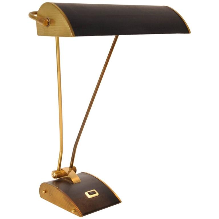 Desk lamp by eileen gray for jumo france circa 1940 at 1stdibs - Eileen gray table original ...