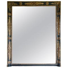 19th Century Empire Style French Antique Mirror