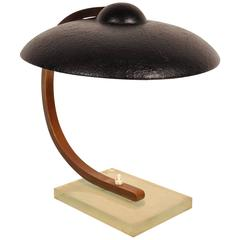 Table Light Attributed to Jacques Adnet or Rene Coulon, France, circa 1950