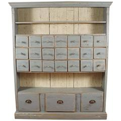 Grey Multi Drawer Cupboard
