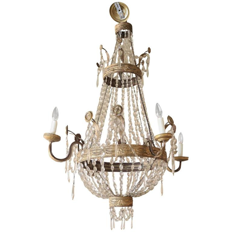Italian Chandelier from Genoa For Sale at 1stdibs