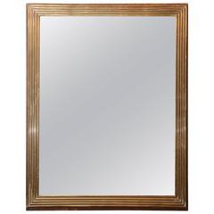 Directoire Style Brass Mirror