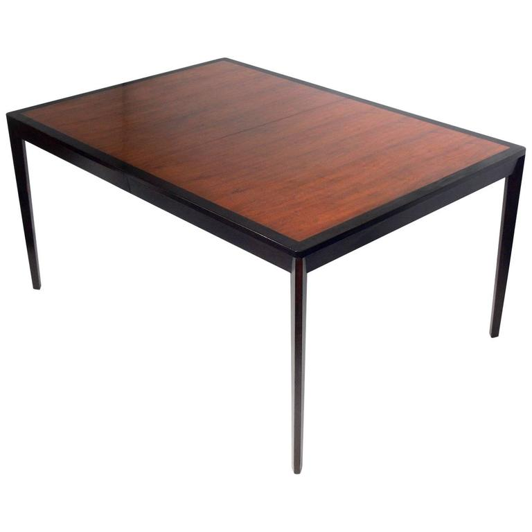 Clean Lined Dining Table by Edward Wormley for Dunbar, Seats Six-Ten
