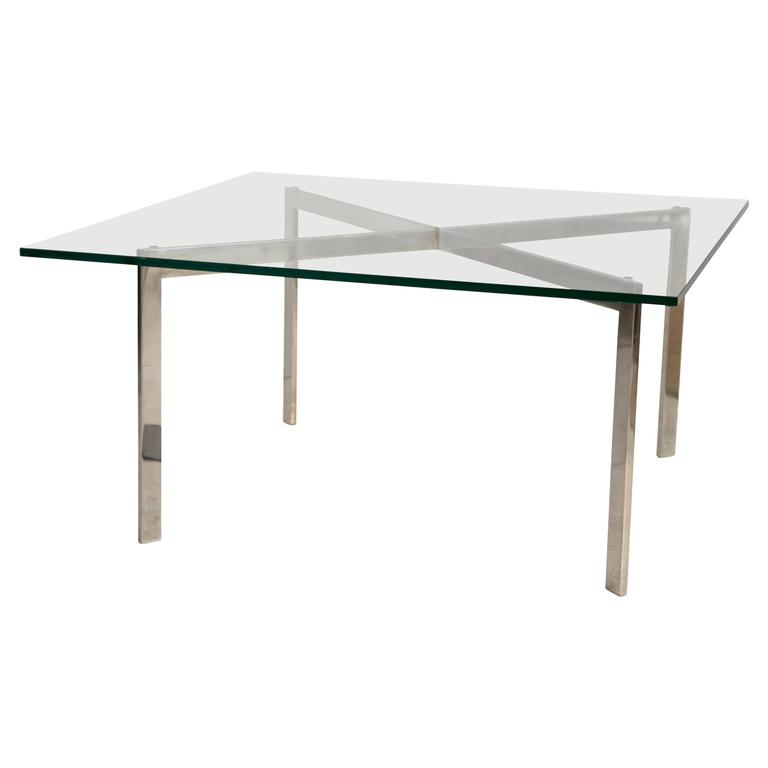 Barcelona table by mies van der rohe for knoll at 1stdibs - Barcelona table knoll ...