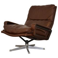 "Vintage Strassle ""King"" Lounge Armchair, 1960s"
