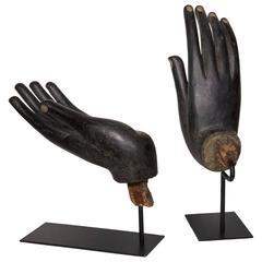 Black Buddha Hands