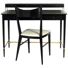 Clean Lined Desk and Chair by Paul McCobb
