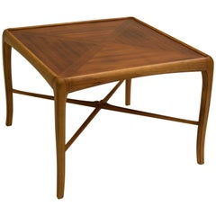 Walnut and Fruitwood Table by Thomasville, 1965