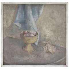 Original Oil Still-Life by Listed Artists, Katka Kompaneyets