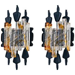 70's Swedish Sconces by Tom Ahlstrom & Hans Ehrich