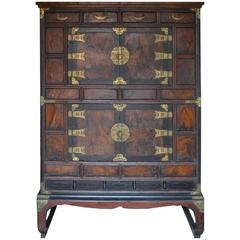 Chinese Cabinet Apothecary or Armoire