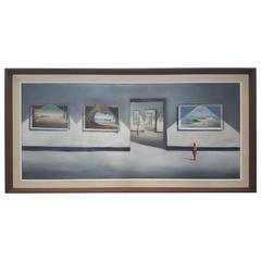 American Surrealist Painting by John Stancin