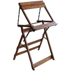 1930s School Art Easel/Hostess Stand
