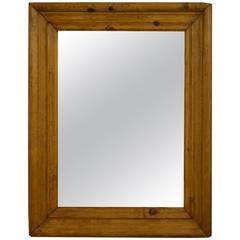 Antique Pine Mirror Frame