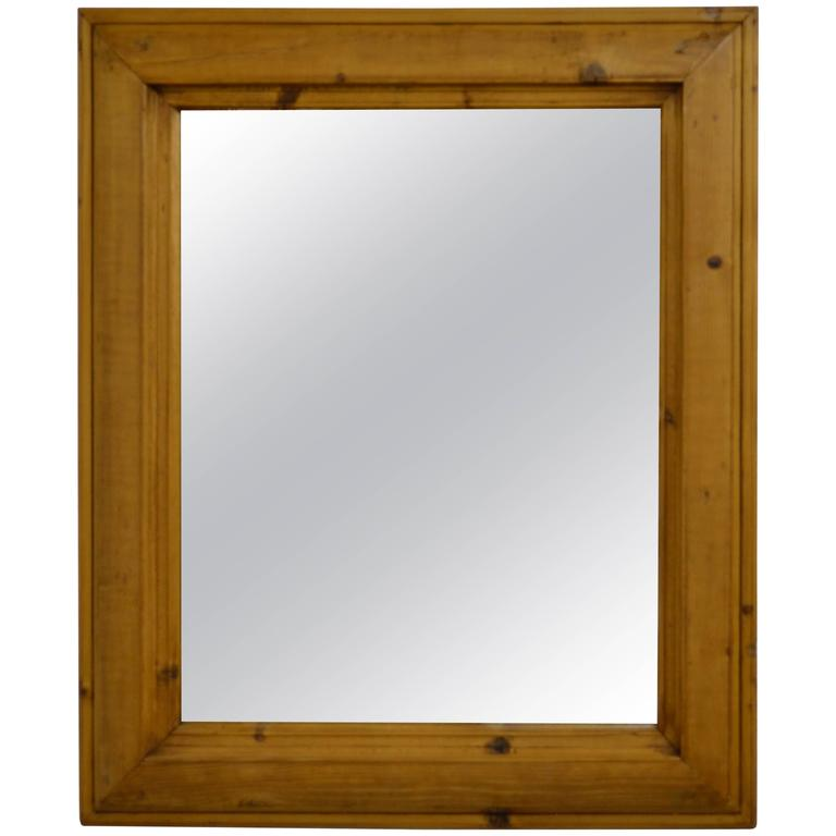 Antique Pine Mirror Frame At 1stdibs