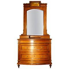 Antique Italian 19th Century Art Nouveau Dresser