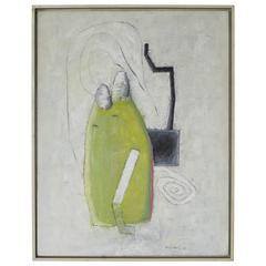 Everything Has Direction and Purpose by Babis Vekris, Mixed-Media, 1988