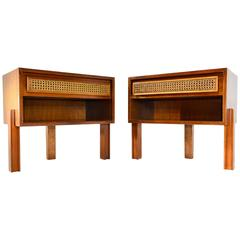 Edward Wormley Pair of Nightstands