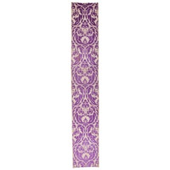 Early 20th Century Russian Silk Cut Velvet Panel