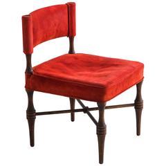 Tommi Parzinger, Slipper Chair, USA, 1967