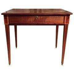 Louis XVI Unusual Games Table