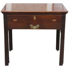Period Early George III Mahogany Architects Work Table