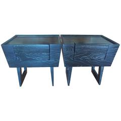 Paul Laszlo End Tables Brown & Saltman