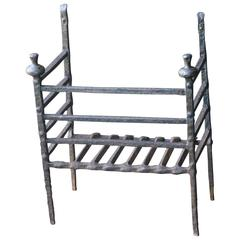 17th-18th Century French Fire Grate, Fireplace Grate