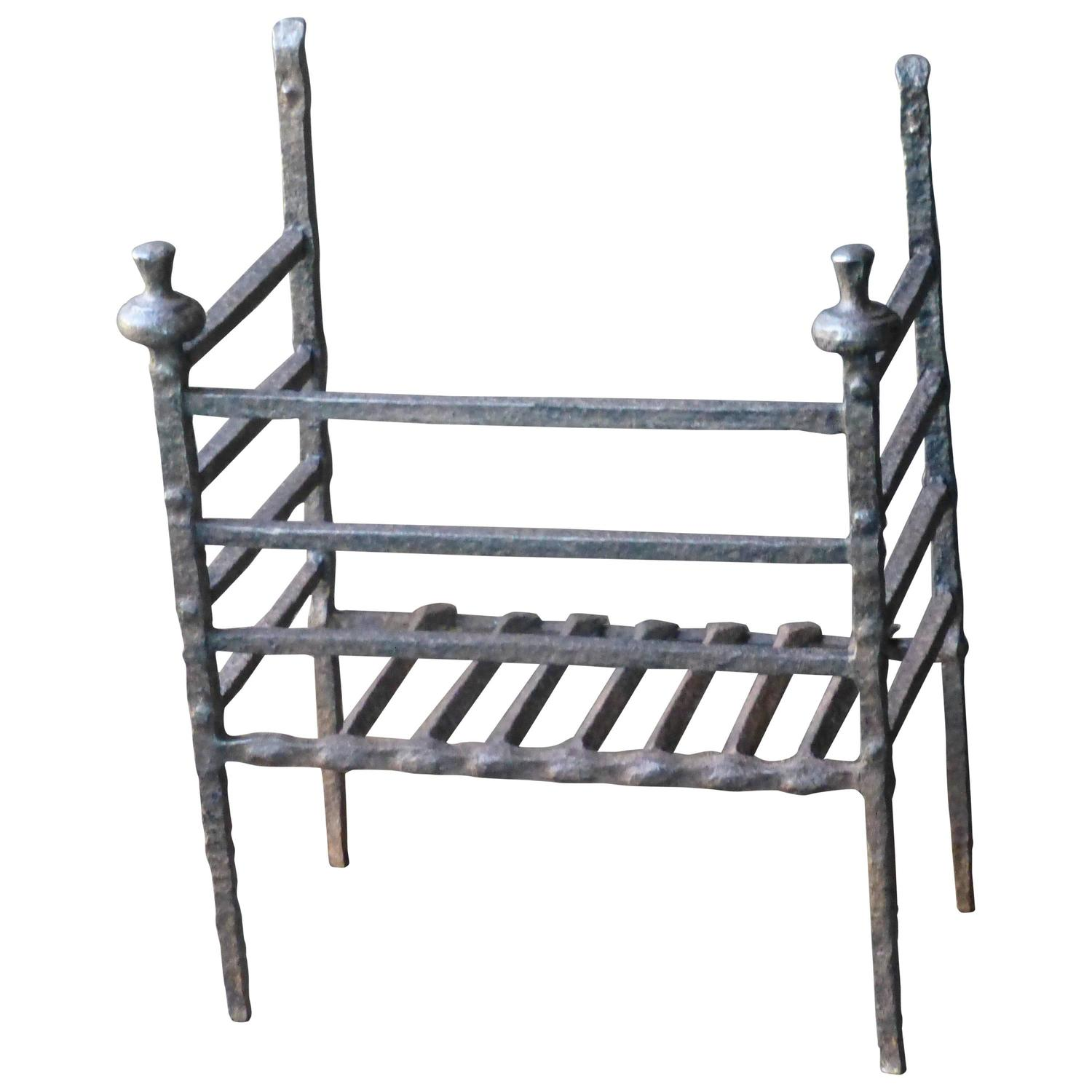 17th 18th Century French Fire Grate Fireplace Grate For Sale At 1stdibs
