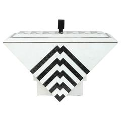 Tesselated Marble Box by Maitland-Smith
