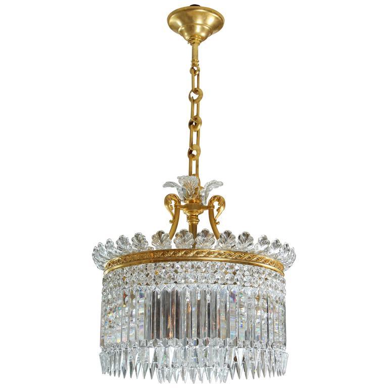 Baccarat lustre crinoline nine lite chandelier for sale at 1stdibs baccarat lustre crinoline nine lite chandelier for sale aloadofball Images