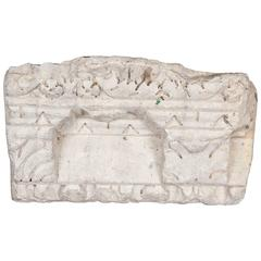 Piece of Roman Stone Cornicing, circa 200 BC