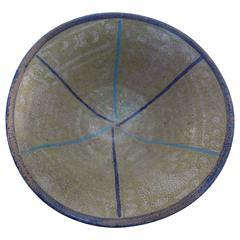 Minimalist Persian Sultanabad Bowl, circa 10th Century