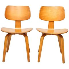 Pair of Vintage Bentwood Sidechairs by Michael Thonet
