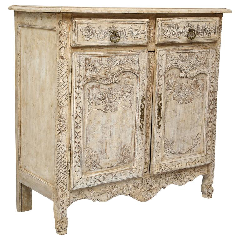 Early 19th Century French Painted Credenza