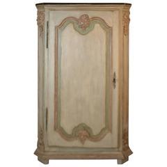 Regence Period Corner Cabinet