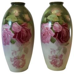 Pair of Fine Porcelain Vases