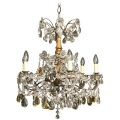 Florentine Six-Light Antique Chandelier