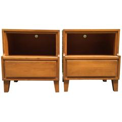 Pair of Conant Ball Modern End Tables