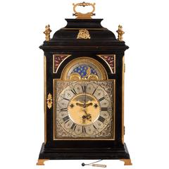 Baroque Mantel Clock with Chimes by Georg Erh. Finely, Germany, circa 1740