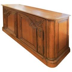 Louis XV Style Oak Cabinet Buffet