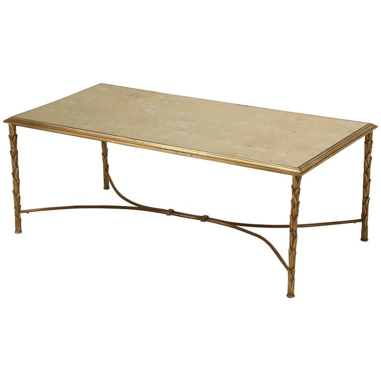 Modern French Coffee Table: Bagues French Mid-Century Modern Coffee Table At 1stdibs