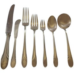 Symphony by Towle Sterling Silver Flatware Service for 12 Set 107 Pieces