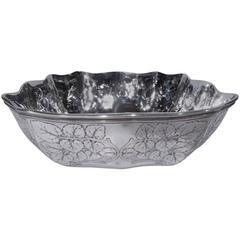 Beautiful Edwardian Sterling Silver Bowl by Tiffany