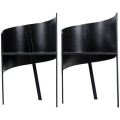 Paolo Pallucco Pair of Occasional Chairs