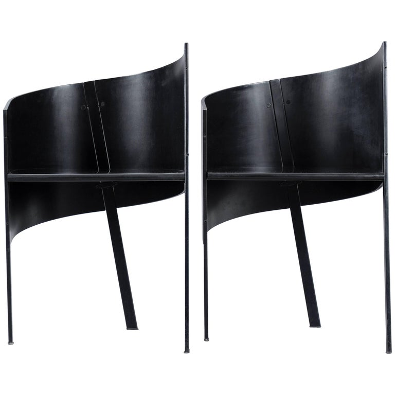 Paolo Pallucco Pair of Occasional Chairs For Sale