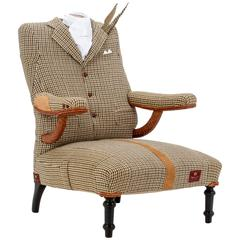 The Dapper Tweed Armchair.