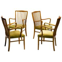 Elegant 1950s Danish Dining Chairs