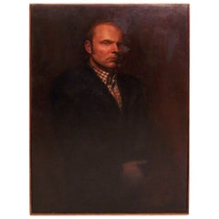 Large Portrait of a Gentleman, American Mid-20th Century, California Artist