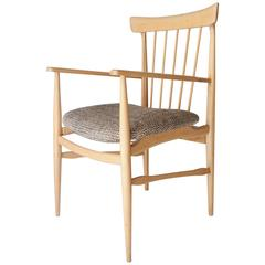 Mid-Century Modern Beechwood Armchair. United Stated, 1950.